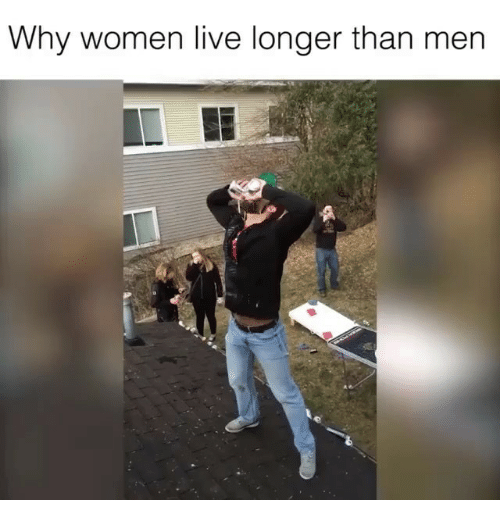 why do women live longer than men Us life expectancy is at an all-time high, according a new report why are men  falling behind.
