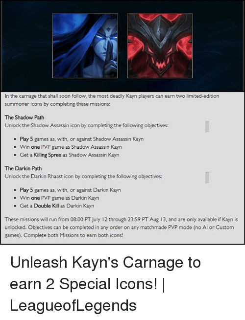 Wi In The Carnage That Shall Soon Follow The Most Deadly Kayn