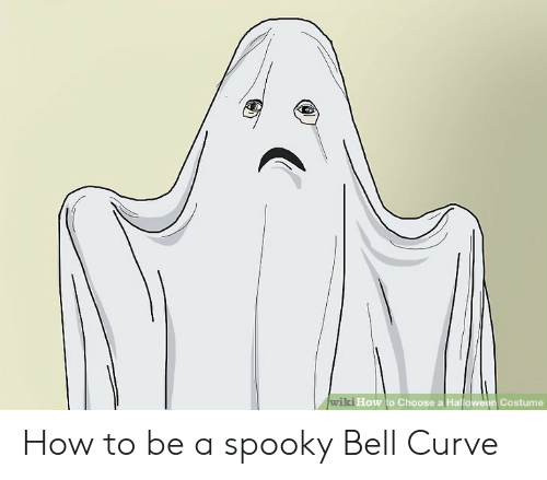 Curving, Halloween, and How To: wiki How to Choose a Halloween Costume How to be a spooky Bell Curve