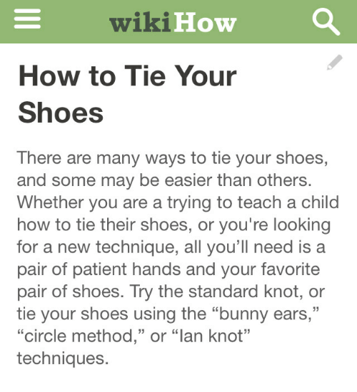 45786cde2a9c1 wikiHow How to Tie Your Shoes There Are Many Ways to Tie Your Shoes ...