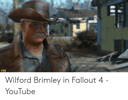 Wilford Brimley in Fallout 4 - YouTube | Fallout 4 Meme on ME ME
