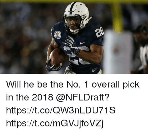 Memes, 🤖, and Will: Will he be the No. 1 overall pick in the 2018 @NFLDraft? https://t.co/QW3nLDU71S https://t.co/mGVJjfoVZj