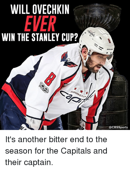 ed2f5ace78c WILL OVECHKIN EVER WIN THE STANLEY CUP  WASHINGTONW CBSSports It s ...