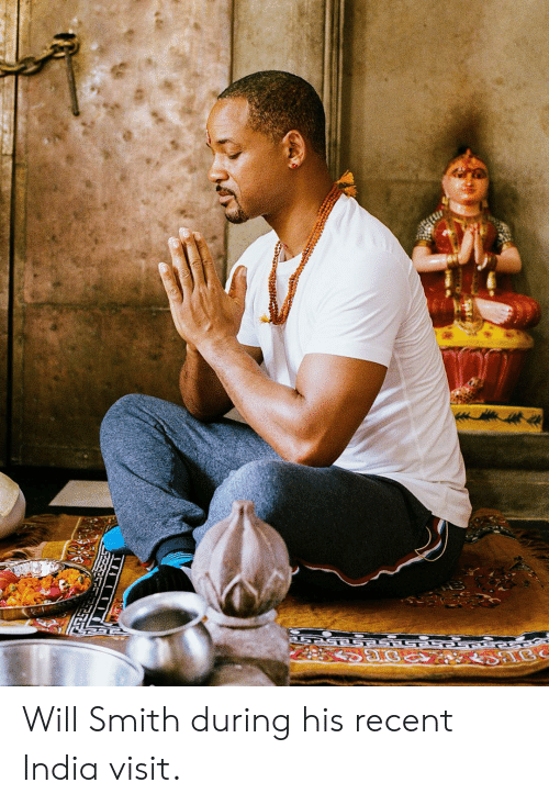Will Smith During His Recent India Visit | Will Smith Meme on ME ME