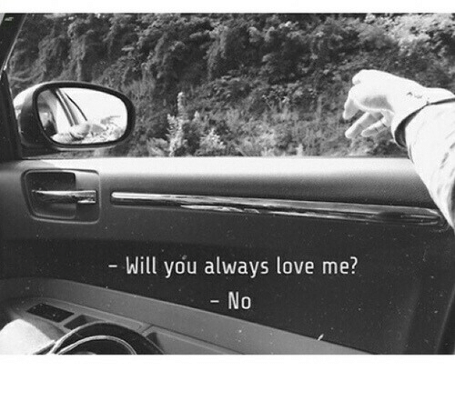 Love, Will, and You: Will you always love me?  0