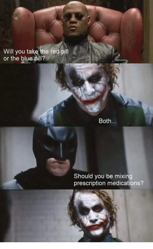 you take the red pill
