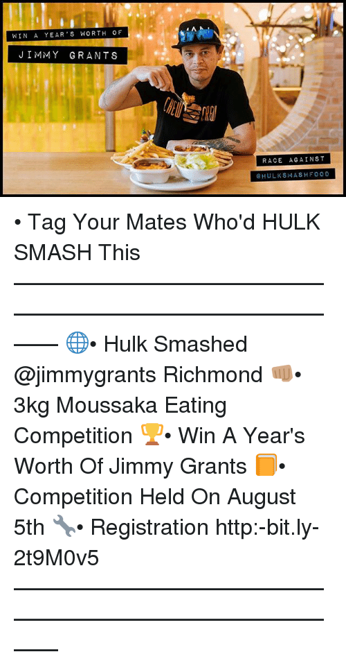 Food Memes And Smashing Win A Year S Worth Of Jimmy Grants Race