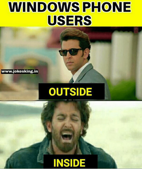 WINDOWS PHONE USERS Wwwjokesking in OUTSIDE INSIDE