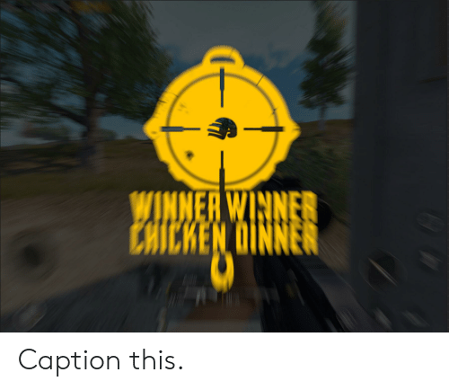 WINNER WINNER CHICKEN OINNER Caption This | Chicken Meme on ME ME