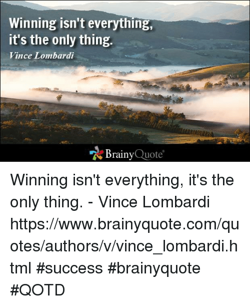 """winning isn t everything its the only thing Startups: """"winning isn't everything it's the only thing"""" - series - i innovation and change are the fundamental characteristics of a startup and."""