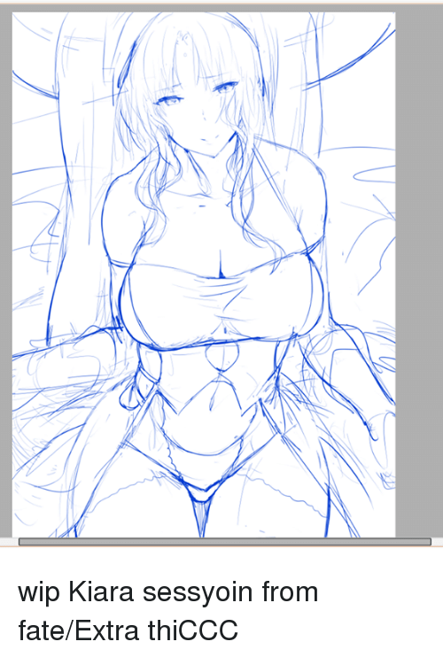Dank, Fate, and 🤖: wip Kiara sessyoin from fate/Extra thiCCC