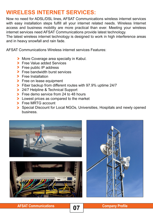 Internet Work And Access WIRELESS INTERNET SERVICES Now No Need For ADSL