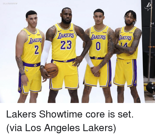 finest selection 9866e 3581c Wish AKERLAKERS 2 23 RS RS AIDING Lakers Showtime Core Is ...