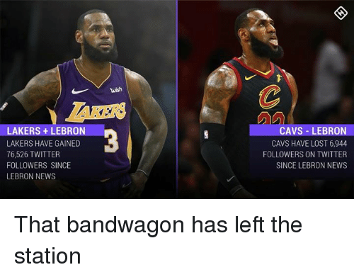 e8c475633 Wish LAKERS +LEBRON LAKERS HAVE GAINED 76526 TWITTER FOLLOWERS SINCE ...