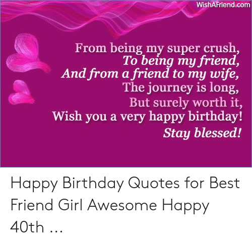 Pleasing Wishafriendcom From Being My Super Crush To Being My Friend And Personalised Birthday Cards Paralily Jamesorg