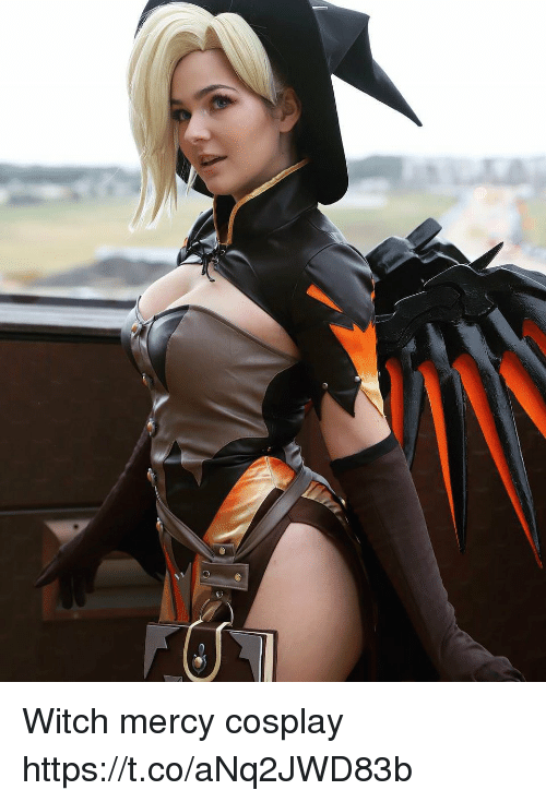 Witch Mercy Cosplay Httpstcoanq2jwd83b Cosplay Meme On Me Me