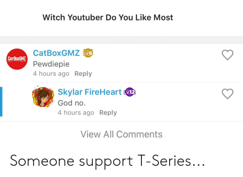 Witch Youtuber Do You Like Most CatBoxGMZ ASB Pewdiepie 4