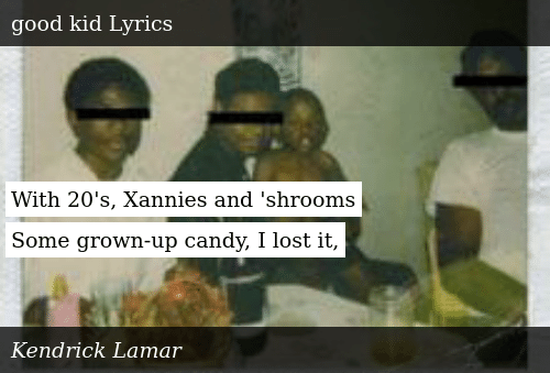With 20's Xannies and 'Shrooms Some Grown-Up Candy I Lost It | Meme