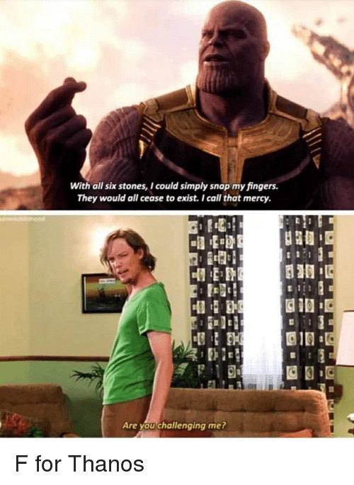 With All Six Stones I Could Simply Snap My Fingers They Would All