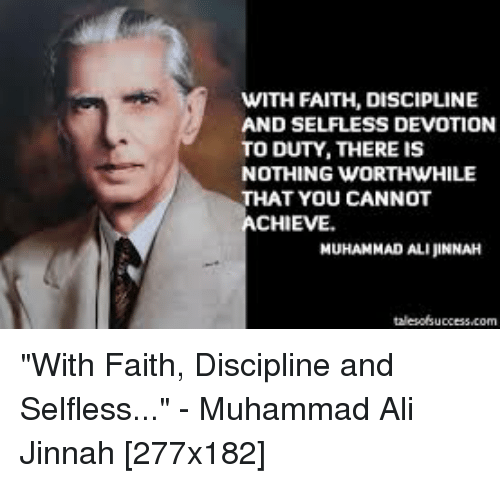 8bdac229a7e2 WITH FAITH DISCIPLINE AND SELFLESS DEVOTION TO DUTY THERE IS NOTHING ...