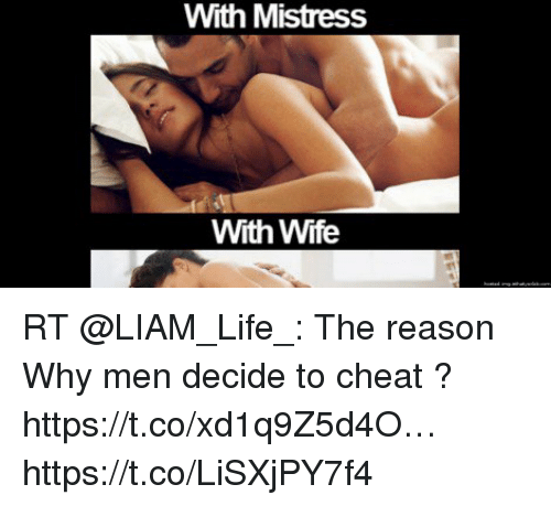 with mistress with wife rt liam life the reason why men 2422516 with mistress with wife rt the reason why men decide to cheat