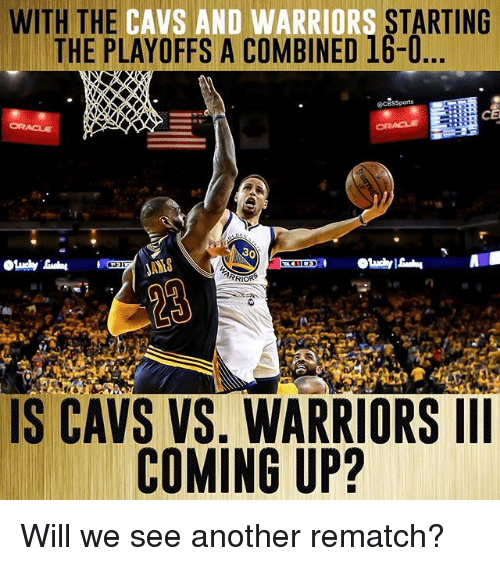 Warriors Come Out To Play Meme: 25+ Best Memes About Cavs Vs Warriors