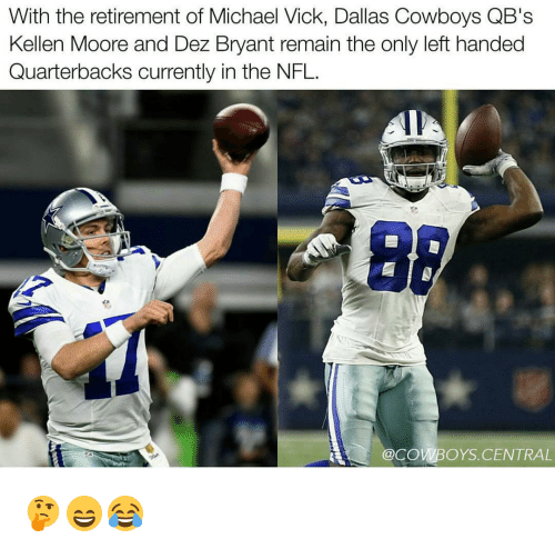 With The Retirement Of Michael Vick Dallas Cowboys Qb S