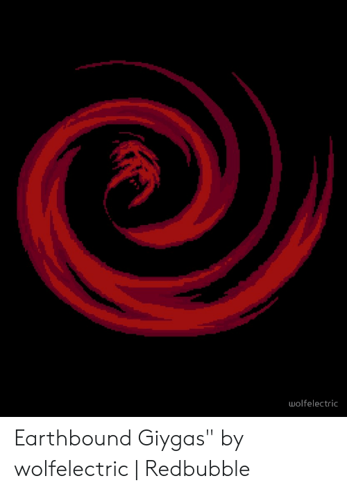Wolfelectric Earthbound Giygas by Wolfelectric | Redbubble