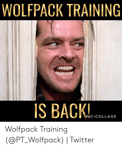 Wolfpack Training Is Back Pic Collage Wolfpack Training Twitter