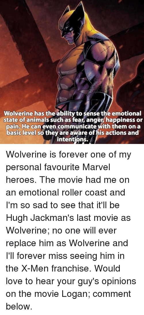 wolverine has the ability to sense the emotional state of 15665412 ✅ 25 best memes about im so sad im so sad memes,Emotional Pain Memes