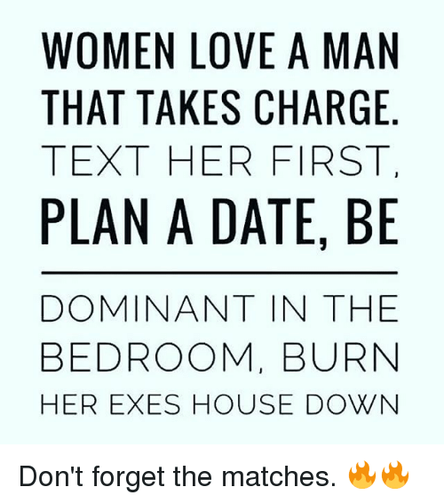 should a woman text a man first