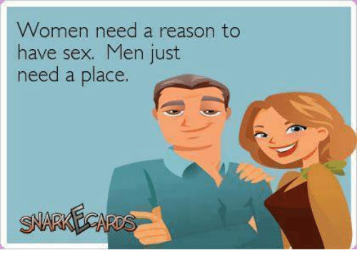Reasons to have sex above told