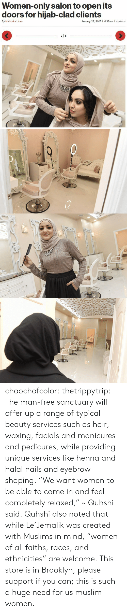 Women-Only Salon to Open Its Doors for Hijab-Clad Clients by