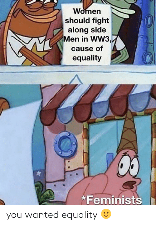 Women Should Fight Along Side Men In Ww3 Cause Of Equality
