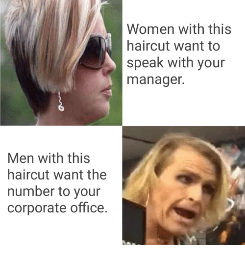 Women With This Haircut Want to Speak With Your Manager Men With ...