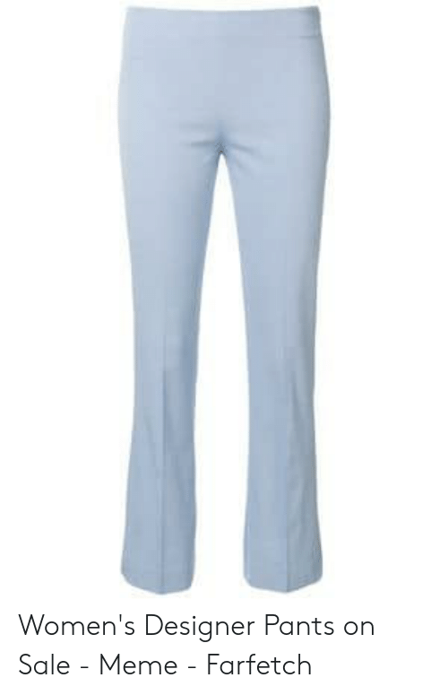 baa769377 Meme, Farfetch, and Sale: Women's Designer Pants on Sale - Meme - Farfetch
