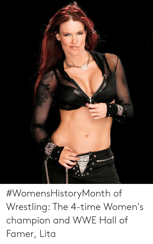WomensHistoryMonth of Wrestling the 4-Time Women's Champion and WWE