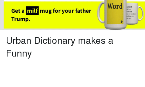 Milf urban dictionary