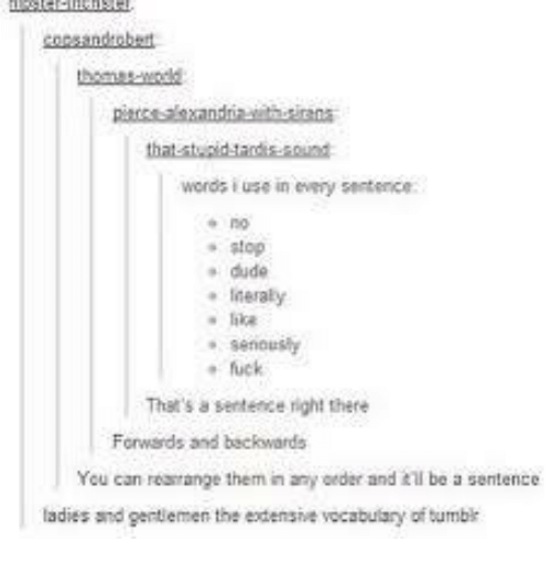 word use in sentence