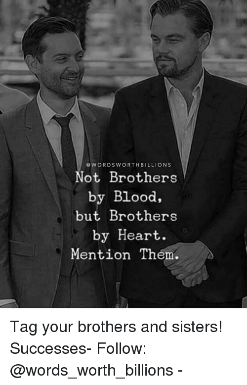 Not brothers