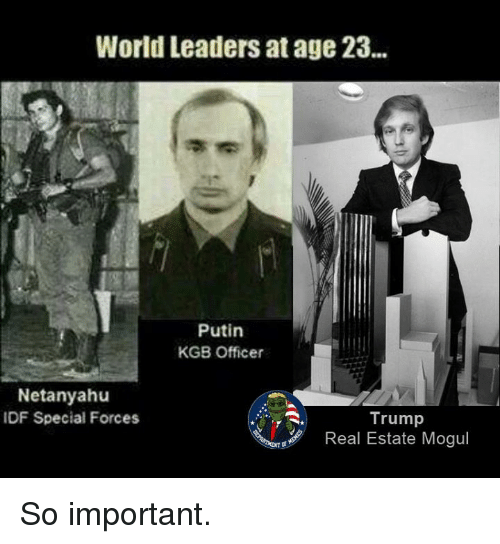 world leaders at age 23