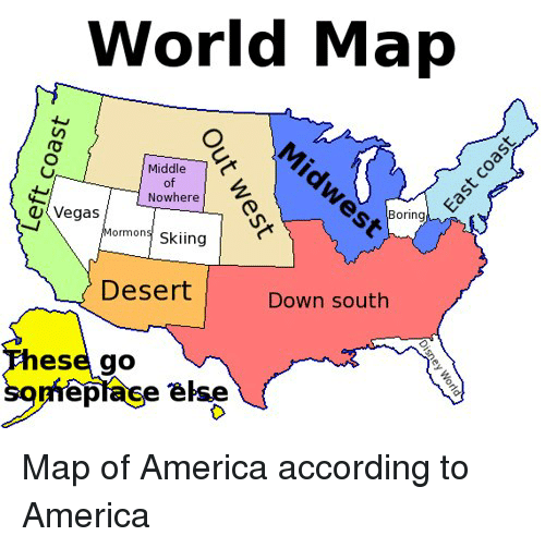 bored memes and maps world map middle of nowhere u vegas boring mormons