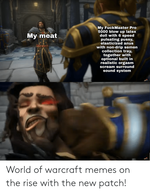 World Of Warcraft Memes On The Rise With The New Patch Meme On
