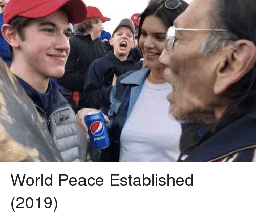 World, Peace, and World Peace: World Peace Established (2019)