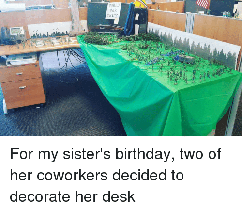 How To Decorate A Coworkers Office For Birthday