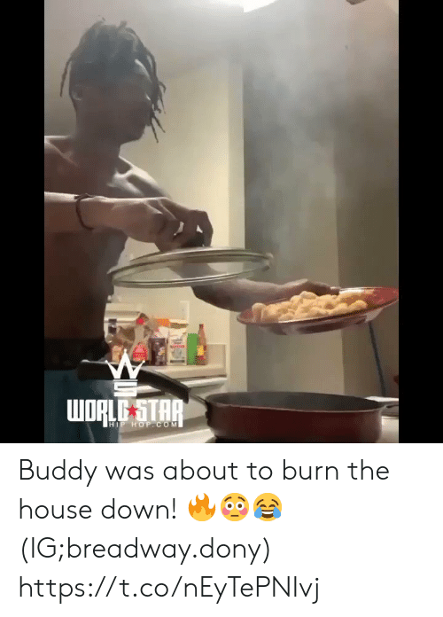 House, Star, and Hip Hop: WORLE STAR  HIP HOP.COM Buddy was about to burn the house down! 🔥😳😂 (IG;breadway.dony) https://t.co/nEyTePNIvj