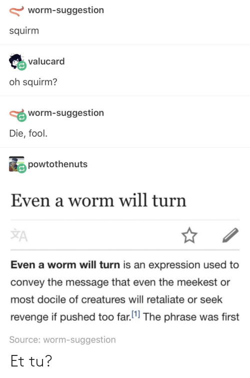Squirm (Part 1 of the E.E.T. Series)