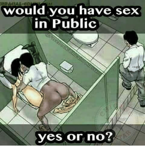 Can you have sex in public