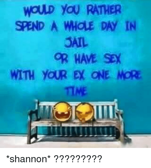Would you rather have sex with, naked in stocks