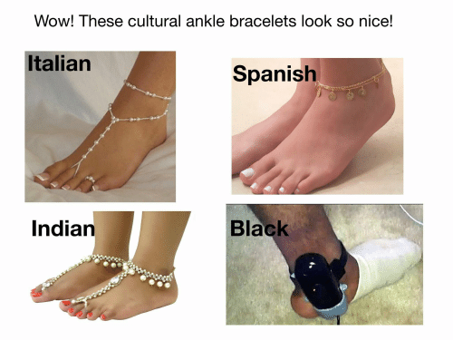These Cultural Ankle Bracelets Look So Nice
